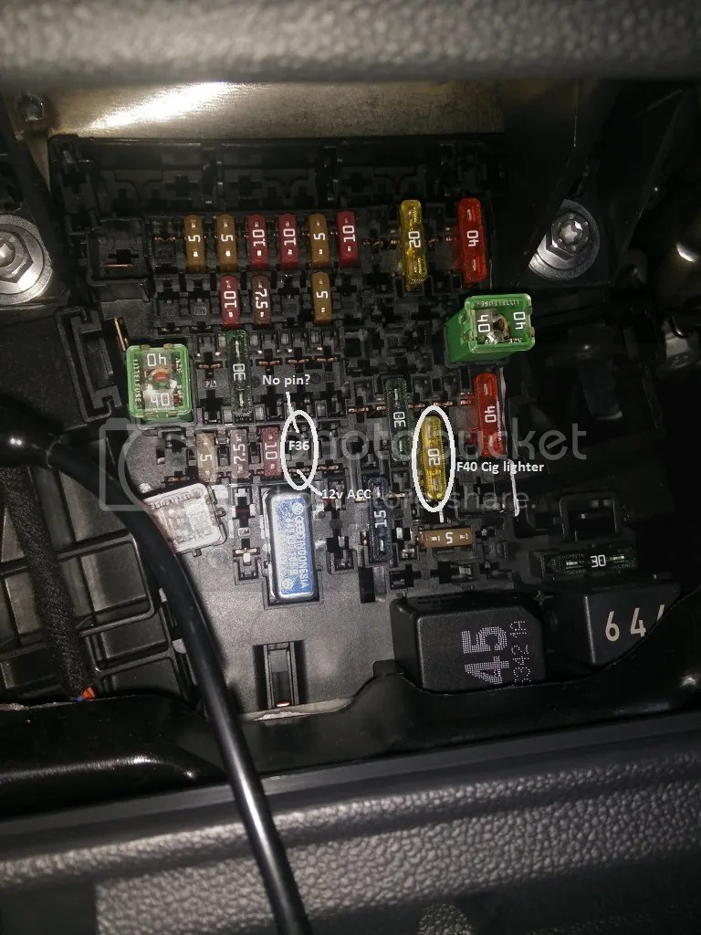 medium resolution of now to the real reason why i started this thread i cannot find any info on direct connection to unused fuse slots on our cars nor have i seen it done