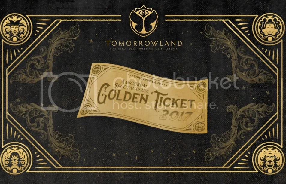 Tomorrowland's Golden Ticket
