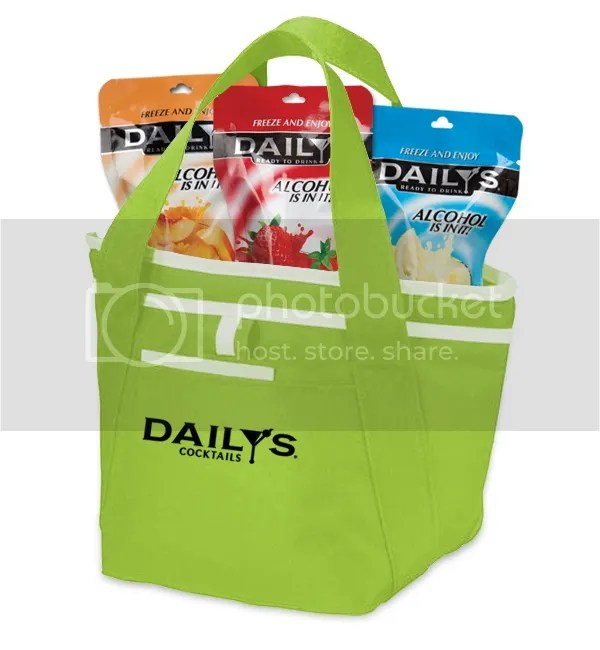 Dailys Cocktails Insulated Lunch Tote