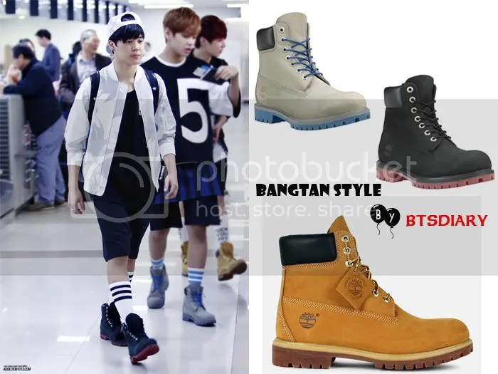 [Bangtan Style] BTS Airport Fashion Going to Japan [140529]