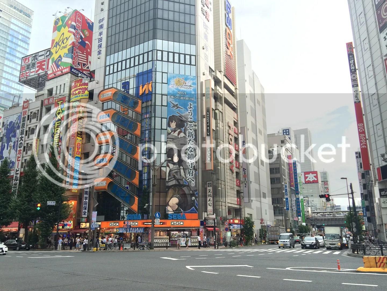 Rất khác với không khí ở mấy khu hành chính Tokyo