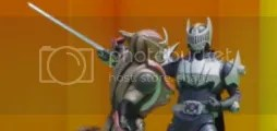 Kamen Rider Cerberus VS Knight