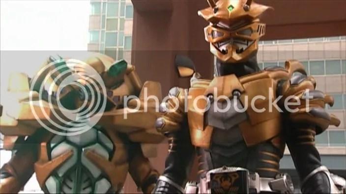 Kamen Rider Scissors & Volcaner