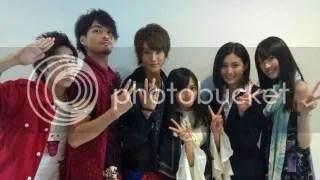 Junpei, Yugo, Haruto, Koyomi, Rinko & Misa