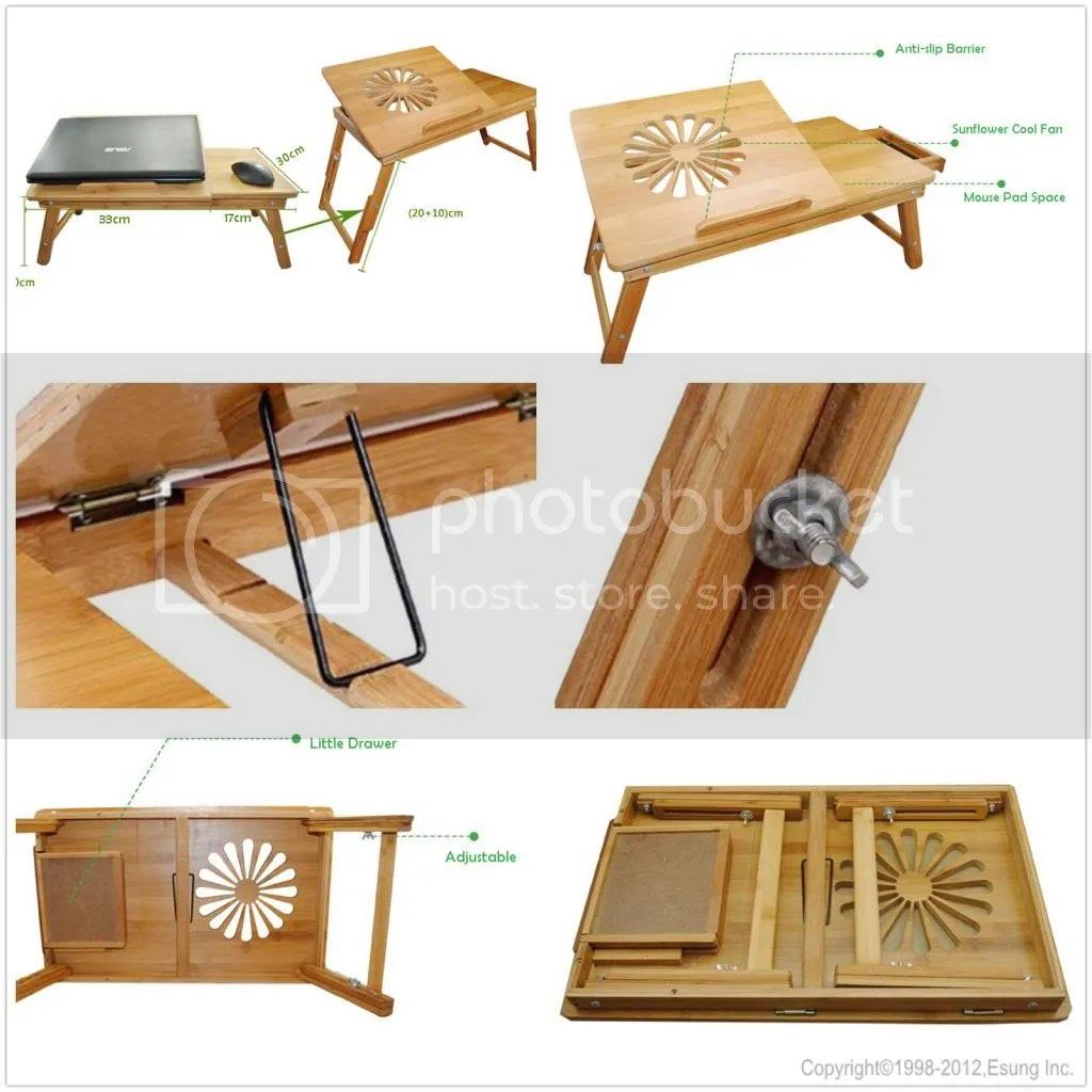 sofa portable table reclining two seater new folding adjustable bamboo laptop desk