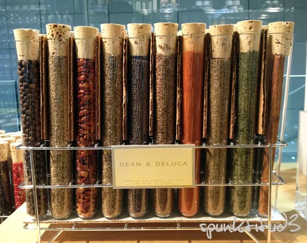 Dean and Deluca Spice Rack