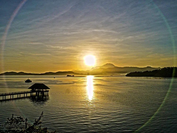 Kota Kinabalu Sunrise from Gaya Island