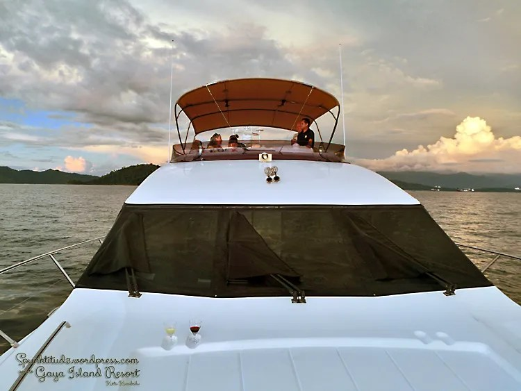 Sunset Cruise at Gaya Island Resort