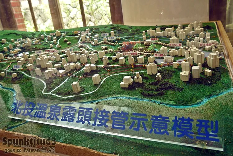 Architectural Model of Beitou