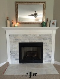 Hey Hollywood: {diy} fireplace remodel