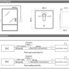 Emergency Door Release Wiring Diagram For Whirlpool Electric Water Heater European Type Exit Out Button With Key