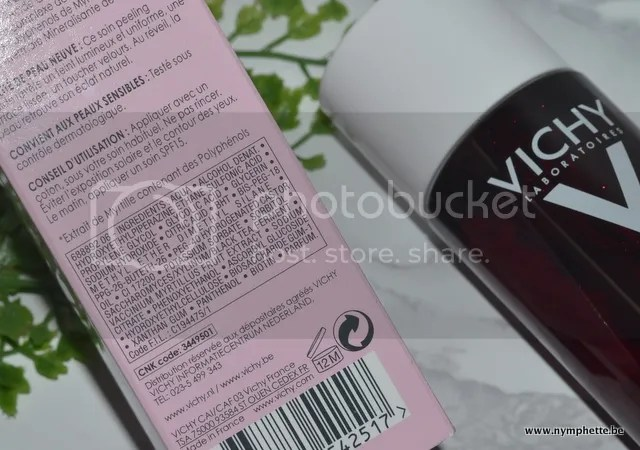 photo Vichy Idealia Peeling ingredienten_zpsb3v8tz30.jpg
