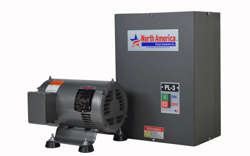 medium resolution of details about pl 3 pro line 3hp rotary phase converter built in starter made in usa