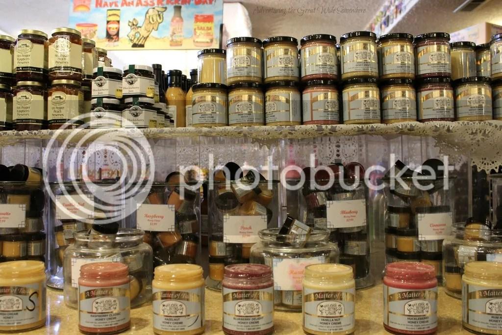 photo Delicious Sampling Honeys at A Matter of Taste Leavenworth_zpsngvqr3rn.jpg