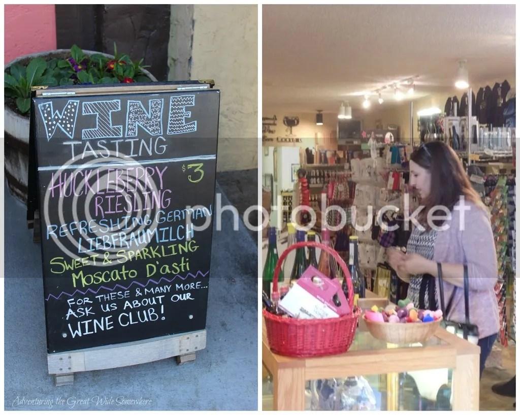 photo Huckleberry Riesling Wine Tasting in Leavenworth WA_zpsmkbwjl3m.jpg