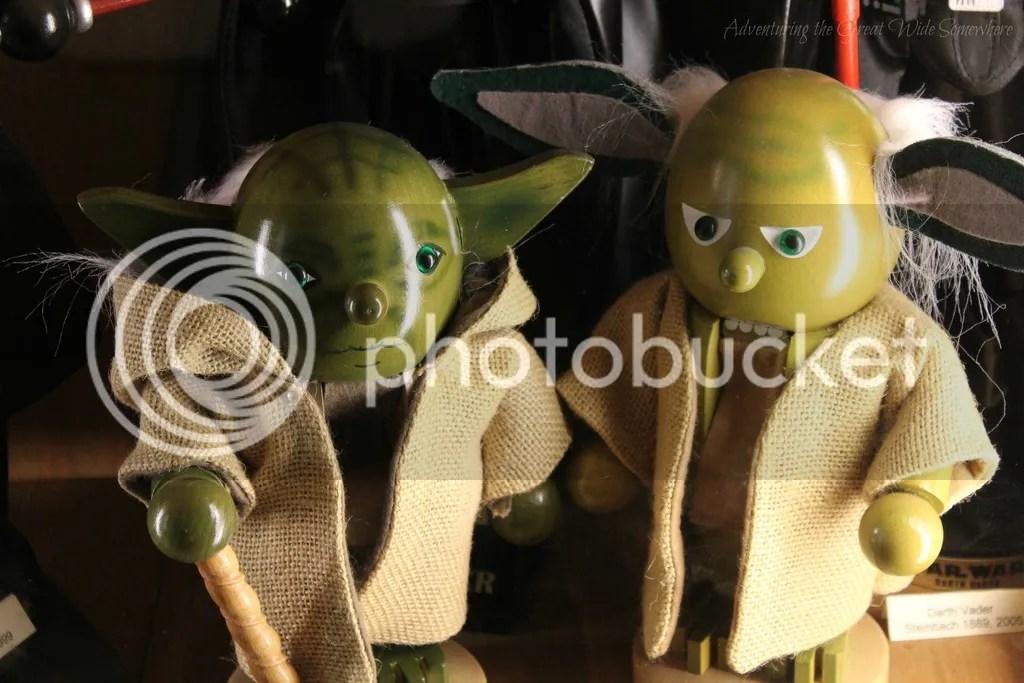 photo Star Wars Yoda Nutcrackers at the Leavenworth Nutcracker Museum_zpsb8jwgs29.jpg