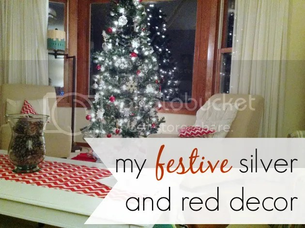 simple and festive decor