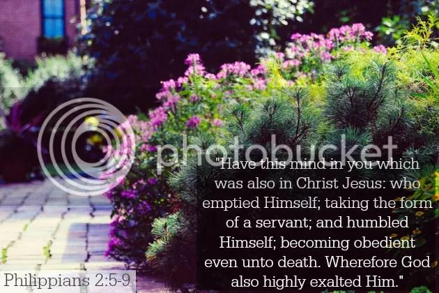 Philippians 2:5-9 lent day 31 humble