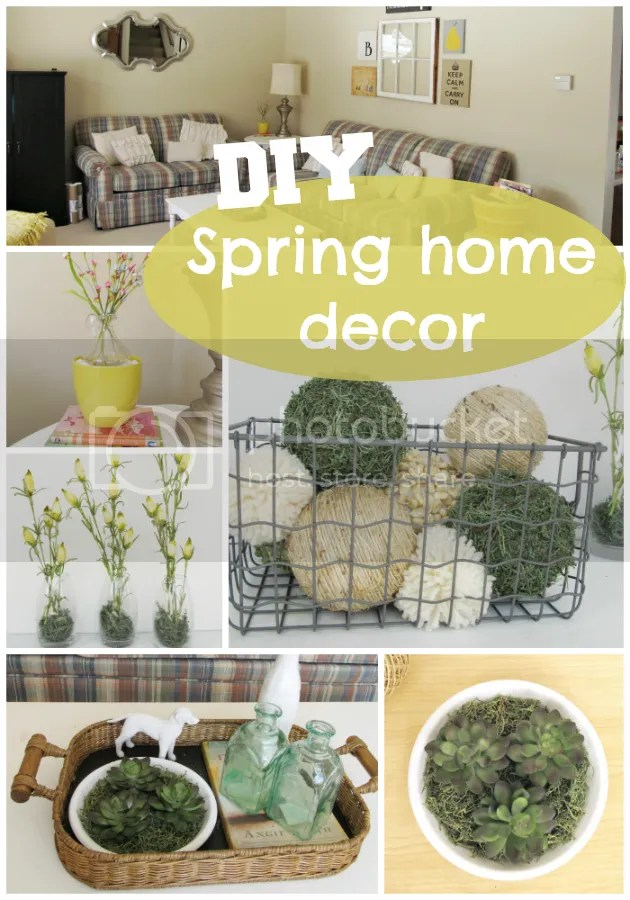 spring living room decor ideas