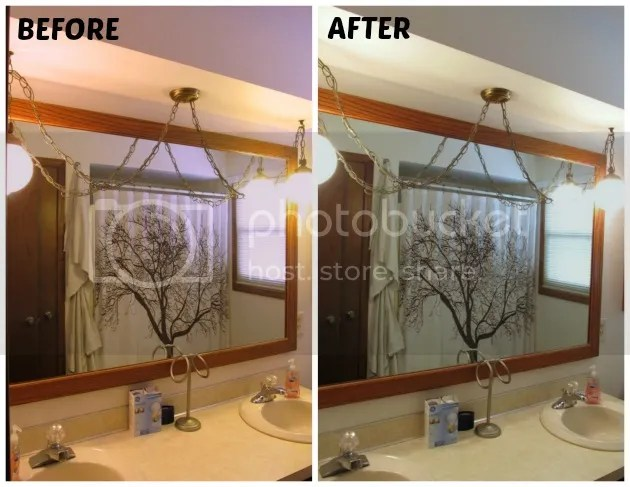 before and after reveal® 75-watt Halogen bulb