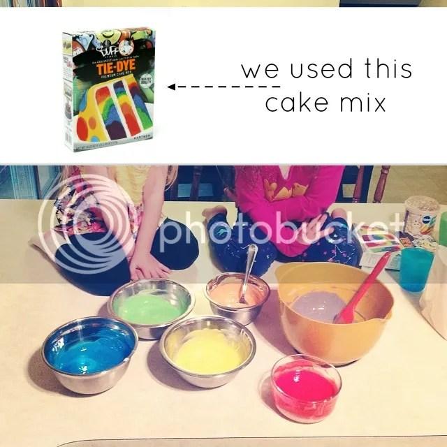 charm city tie-dye cake mix