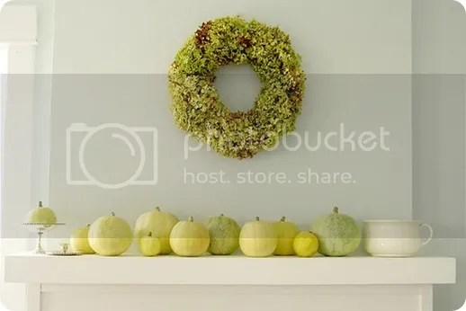 green fall mantle