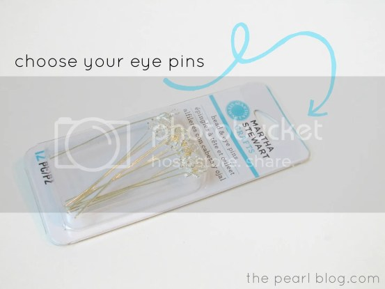 martha stewart eye head pins