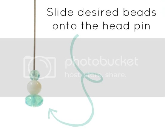 bead earrings DIY