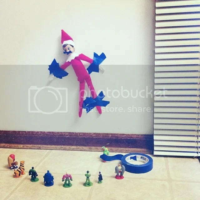 elf being attacked
