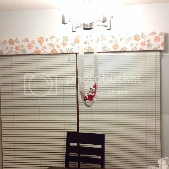 Elf toilet paper hammock