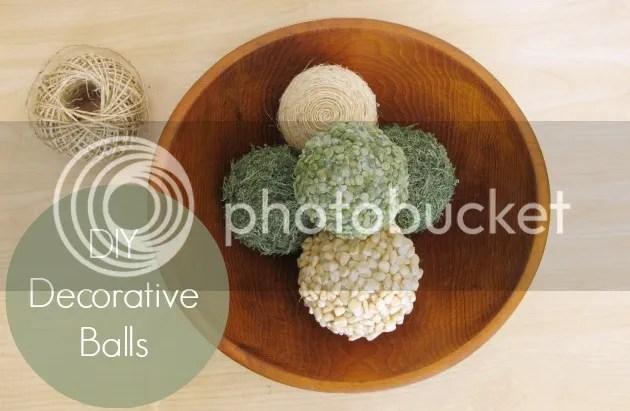 DIY Decorative Balls