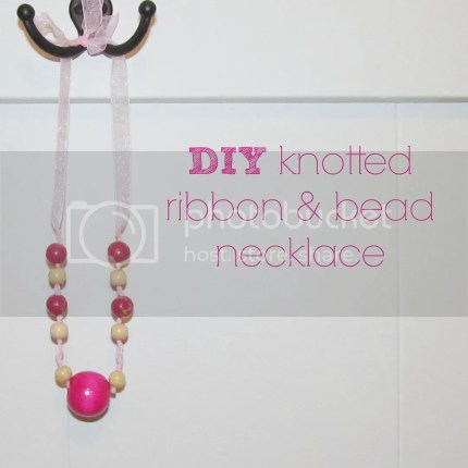 DIY-knotted-ribbon-and-bead-necklace