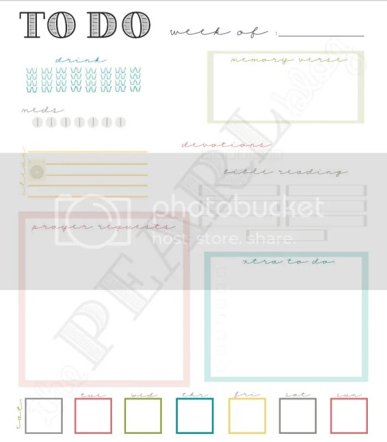 to do planner page