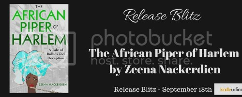 The African Piper of Harlem banner