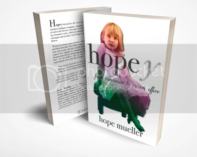 Hopey front back & cover standing
