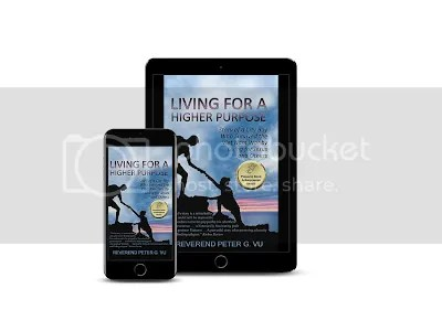 Living for a Higher Purpose tablet