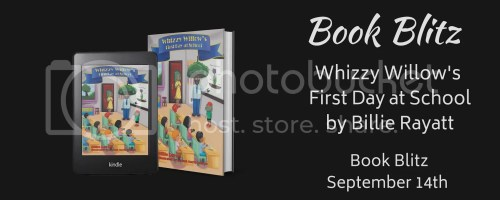 Whizzy Willow's First Day of School banner