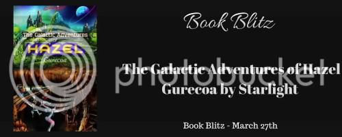 The Galactic Adventures of Hazel Gurecoa banner