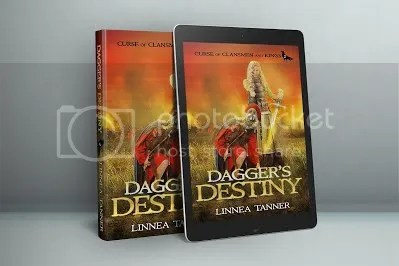 DAGGER'S DESTINY  kindle cover