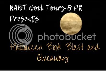 Halloween book blast banner