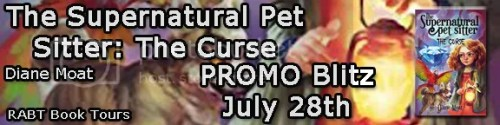 the supernatural pet sitter: the curse banner