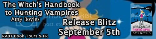 The Witch's Handbook to Hunting Vampires banner