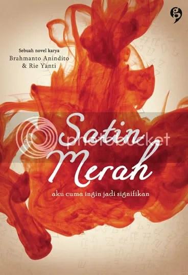 cover Satin Merah
