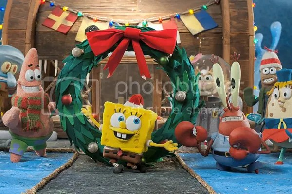 nickelodeon its a spongebob christmas nicks first ever stop motion animated special coming in december