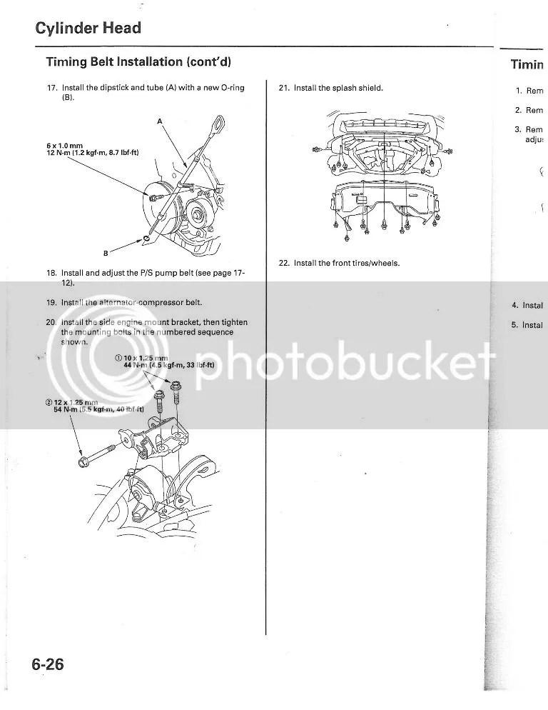 2006 Honda Pilot Belt Diagram : honda, pilot, diagram, Honda, Pilot, Timing, Water, Honda-Tech, Forum, Discussion