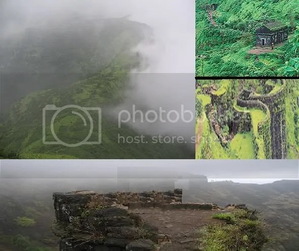 Sinhagad from various angles