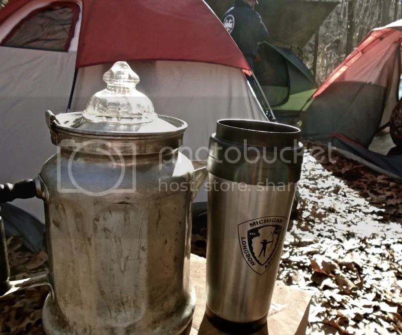 Camp coffee.