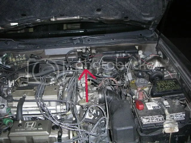 1987 Honda Accord Fuel Pump Location