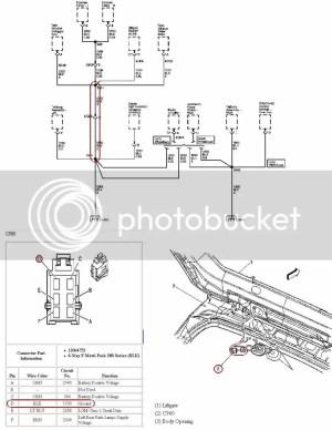 2006 Chevy Trailblazer liftgate wiring  Maintenance