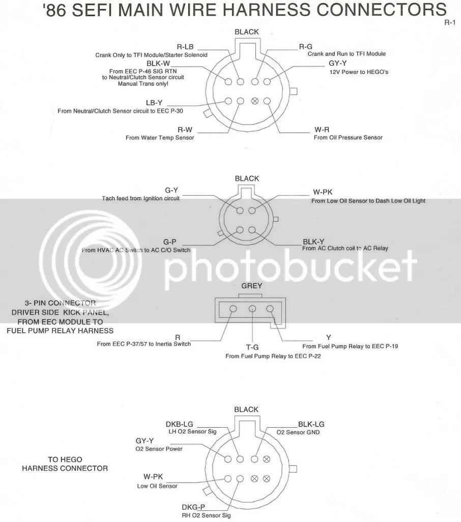 medium resolution of 1990 mustang wiring diagram 8 pin wiring library 1990 mustang wiring diagram 8 pin